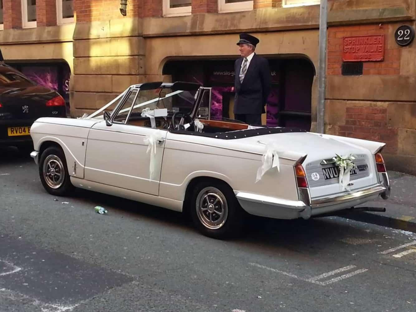 wedding car hire wigan