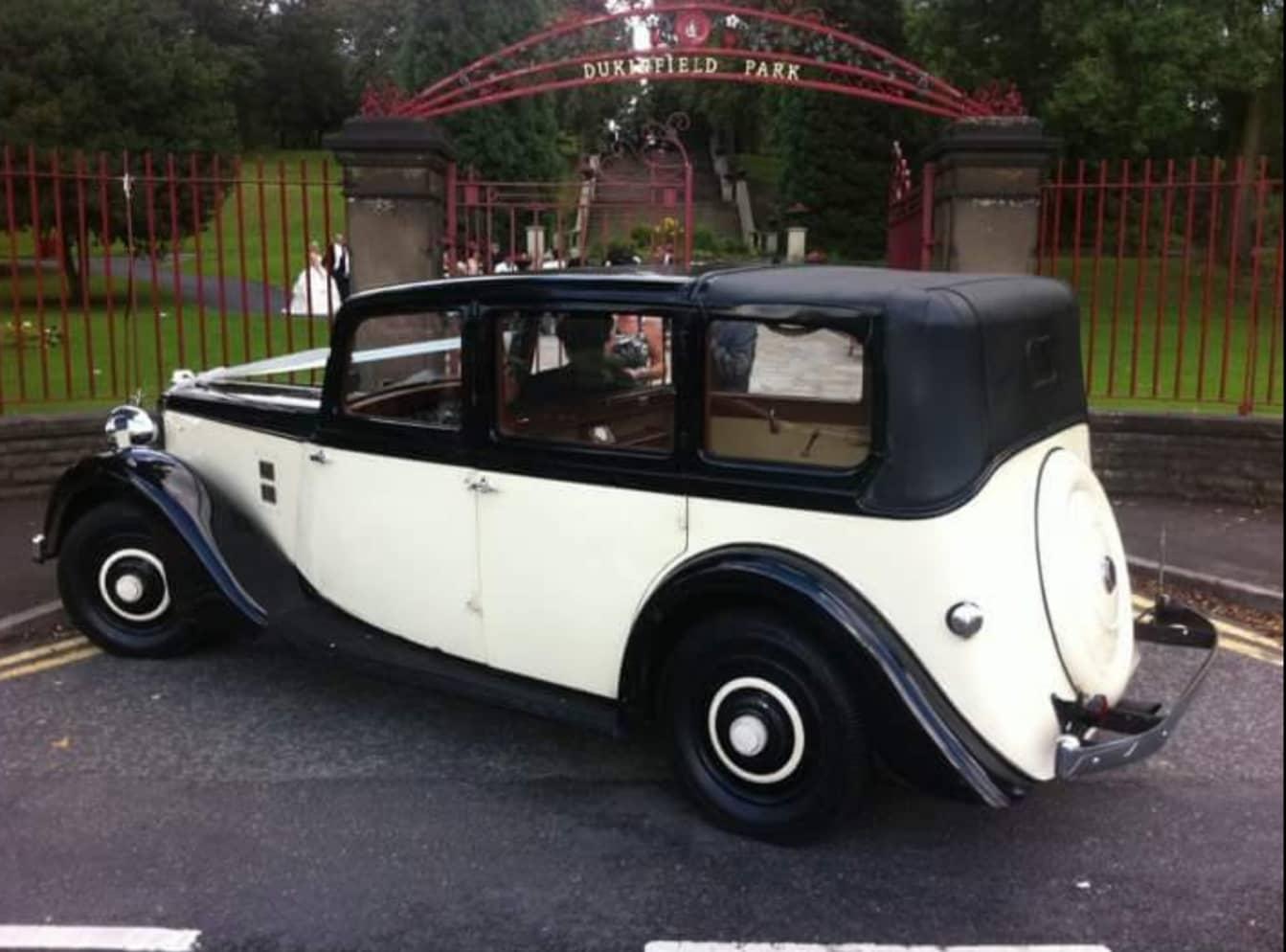 class wedding car