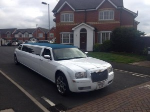 wedding limousine st helens